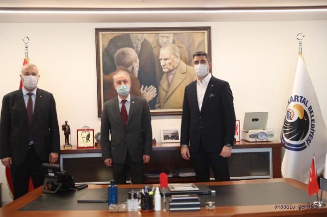 Ardino Belediye Başkanından, Başkan Yüksel'e Anlamlı Ziyaret