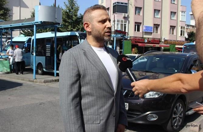 Minibüs esnafı taksiye dönüşümlerini kutladı